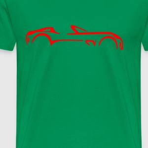 sports_car_side_logo - Men's Premium T-Shirt