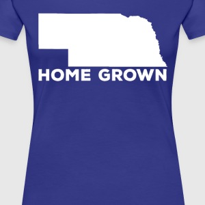 Nebraska Home Grown State T-shirt Women's T-Shirts - Women's Premium T-Shirt