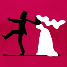 game over bride and groom wedding stag night Women's T-Shirts