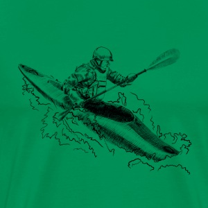 Kayak T-Shirts - Men's Premium T-Shirt