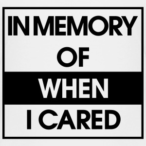 In Memory of when i cared Kids' Shirts - Kids' Premium T-Shirt
