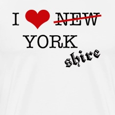 I LOVE YORKSHIRE 01 T-Shirts