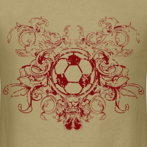 vintage_ball_sport_042016_fussball_b T-Shirts - Men's T-Shirt