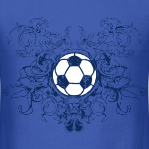 vintage_ball_sport_042016_fussball_a T-Shirts - Men's T-Shirt