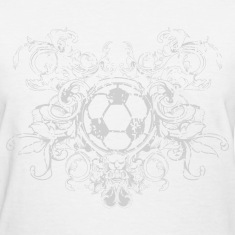 vintage_ball_sport_042016_fussball_c Women's T-Shirts