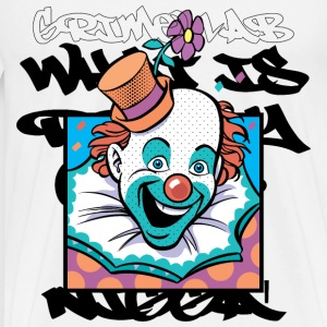wicked clown love T-Shirts - Men's Premium T-Shirt