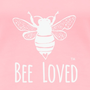 Bee Loved T Shirt Design - Women's Premium T-Shirt