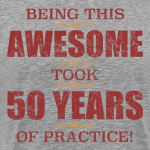 Awesome 50th Birthday - Men's Premium T-Shirt