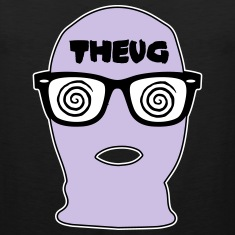 THEUG - The Urban Geek Lavender Ski Mask Tank Top
