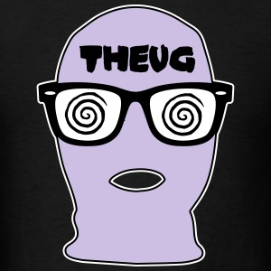 THEUG - The Urban Geek Lavender Ski Mask T-Shirt - Men's T-Shirt