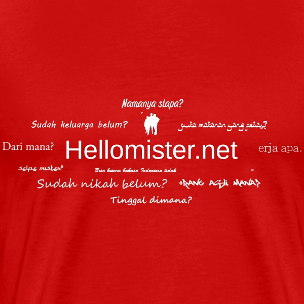 Hellomister.net questions - Men's Premium T-Shirt