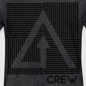 Crew Dark - Fitted Cotton/Poly T-Shirt by Next Level