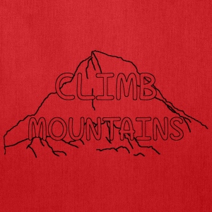 Climb Mountains Tote Bag - Tote Bag