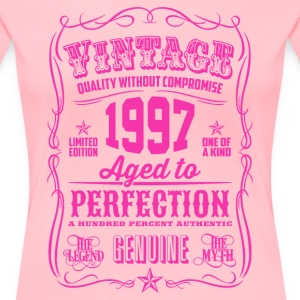 Vintage 1997 Aged to Perfection 19th Birthday Women's T-Shirts - Women's Premium T-Shirt