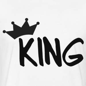 KING T-Shirts - Fitted Cotton/Poly T-Shirt by Next Level