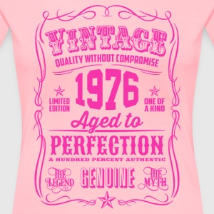 Vintage 1976 Aged to Perfection 40th Birthday - Women's Premium T-Shirt
