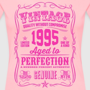 Vintage 1995 Aged to Perfection 21th Birthday Women's T-Shirts - Women's Premium T-Shirt
