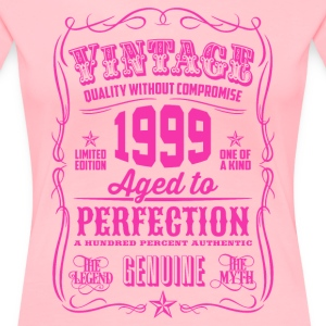 Vintage 2001 Aged to Perfection 17th Birthday Women's T-Shirts - Women's Premium T-Shirt