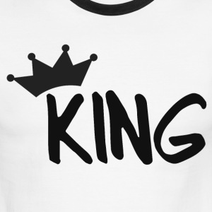 KING T-Shirts - Men's Ringer T-Shirt