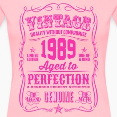 Vintage 1989 Aged to Perfection 27th Birthday