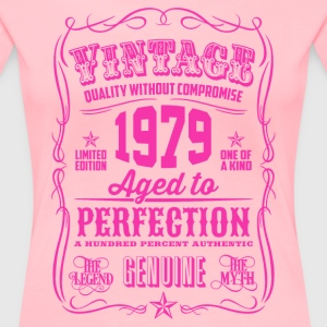 Vintage 1979 Aged to Perfection 37th Birthday - Women's Premium T-Shirt
