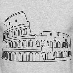 Colosseum in Rome Long Sleeve Shirts