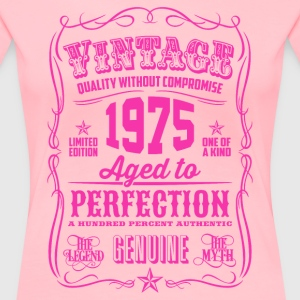Vintage 1975 Aged to Perfection 41th Birthday - Women's Premium T-Shirt