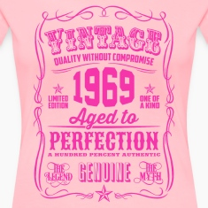 Vintage 1969 Aged to Perfection 47th Birthday