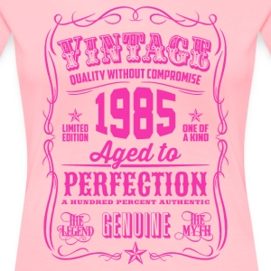 Vintage 1985 Aged to Perfection 31th Birthday - Women's Premium T-Shirt