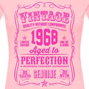 Vintage 1968 Aged to Perfection 48th Birthday - Women's Premium T-Shirt