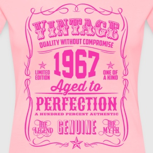Vintage 1967 Aged to Perfection 49th Birthday - Women's Premium T-Shirt