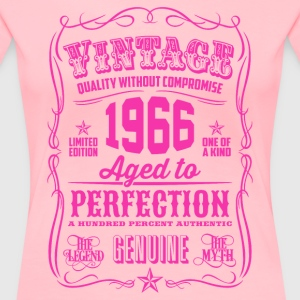 Vintage 1966 Aged to Perfection 50th Birthday - Women's Premium T-Shirt