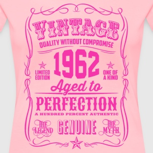 Vintage 1962 Aged to Perfection 54th Birthday - Women's Premium T-Shirt