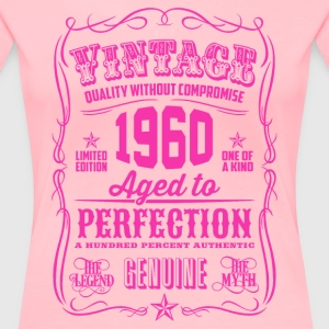 Vintage 1960 Aged to Perfection 56th Birthday - Women's Premium T-Shirt