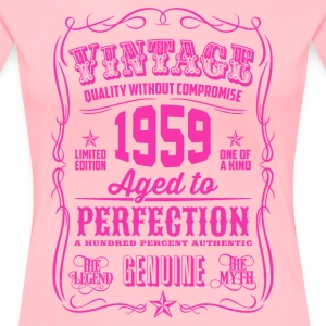Vintage 1959 Aged to Perfection 57th Birthday - Women's Premium T-Shirt