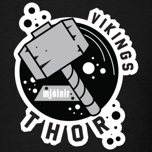 Vikings Thors Hammer T-Shirts - Men's T-Shirt