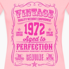 Vintage 1972 Aged to Perfection 44th Birthday