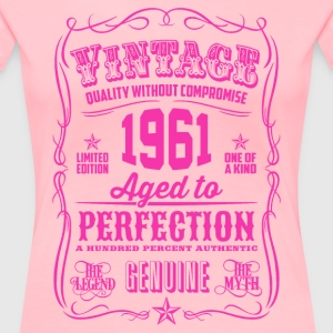 Vintage 1961 Aged to Perfection 60th Birthday - Women's Premium T-Shirt