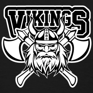 Vikings Axe Crossed Women's T-Shirts - Women's T-Shirt