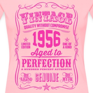 Vintage 1956 Aged to Perfection 60th Birthday - Women's Premium T-Shirt