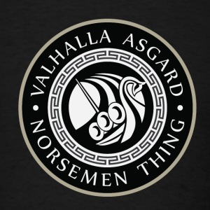 Valhalla Asgard Ship T-Shirts - Men's T-Shirt