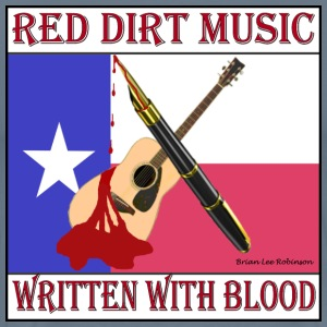 Red Dirt MusiWriten With Blood.jpg T-Shirts - Men's Premium T-Shirt
