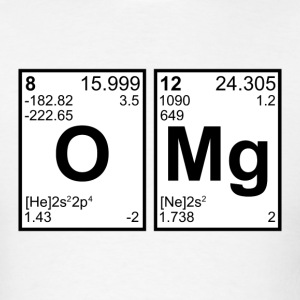 OMG Periodic Elements T-Shirts - Men's T-Shirt