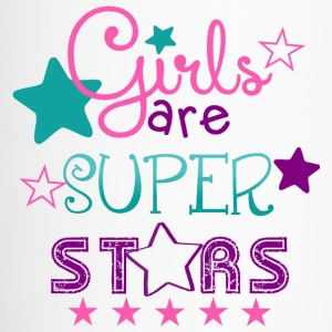 Girls Are Super Stars Mugs - Travel Mug