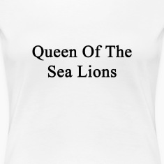 queen_of_the_sea_lions Women's T-Shirts