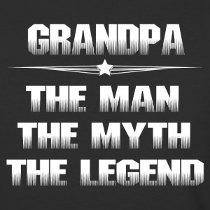 GRANDPA THE MAN THE MYTH THE LEGEND T-Shirts - Baseball T-Shirt