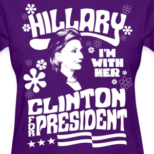 Hillary Clinton I'M WITH HER t shirt - Women's T-Shirt
