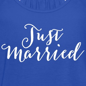 Just Married Tanks - Women's Flowy Tank Top by Bella