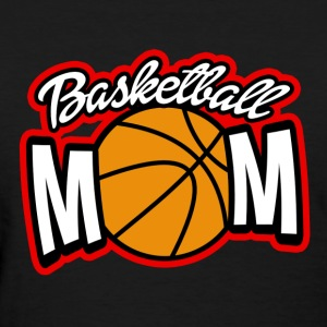 Proud Basketball Mom Pink women's shirt - Women's T-Shirt