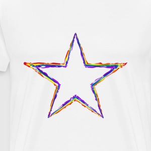 Coloured Star - Men's Premium T-Shirt